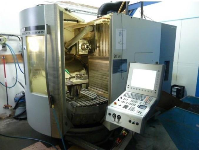 Dmg Mori Dmu 60 T Monoblock 5 Axis Milling Machine Used Y 2003