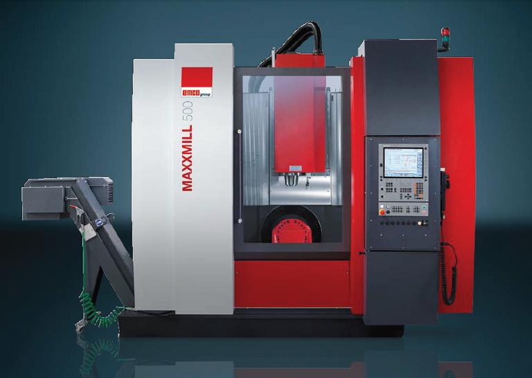 New 5 Axis Milling Machine Emco Maxxmill 500